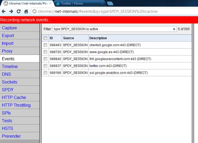 SPDY, protocolo HTTP mejorado