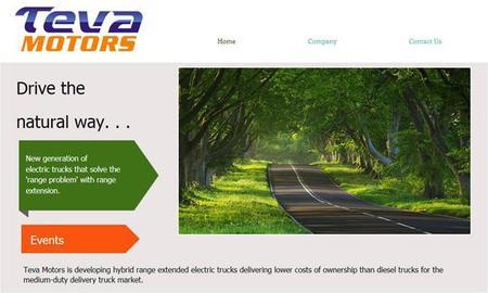 Teva Motors está desarrollando el Deret: un camión eléctrico con extensor de autonomía