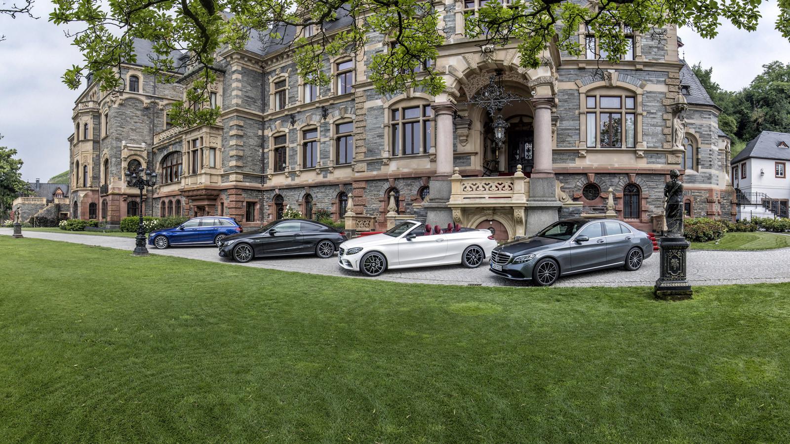 Foto de Mercedes-Benz Clase C 2018, toma de contacto (162/255)