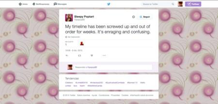 Twitter se la juega:  la plataforma prueba a eliminar el orden cronológico de las timelines