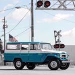 Toyota Land Cruiser FJ45LV de 1967: una restauración de babero
