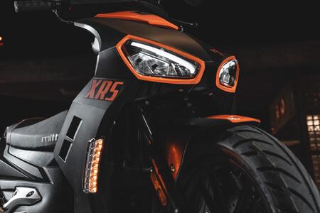 El nuevo Mitt 125 XRS es un scooter de rueda alta vistoso, práctico y por un precio de 1.795 euros