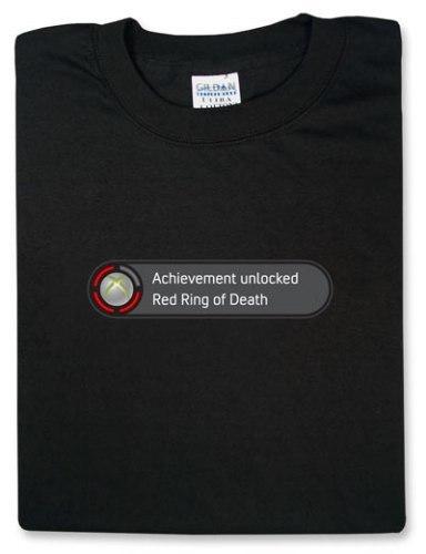 La camiseta del RRoD, el error de las tres luces rojas de la Xbox 360