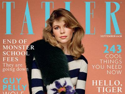 Ellie, la sobrina de Anna Wintour en portada de la revista Tatler