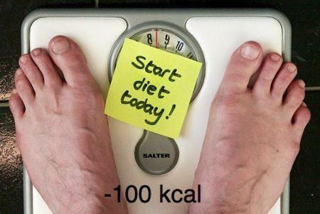 Cinco formas de quitar 100 calorías a la dieta