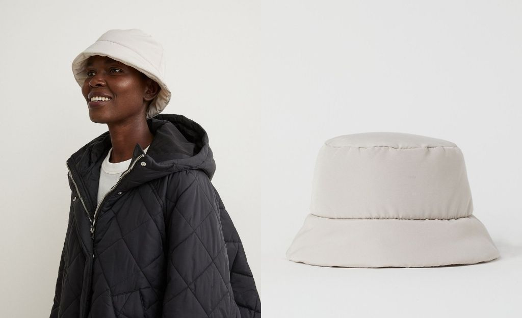 Sombrero bucket acolchado