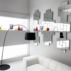 Foto 1 de 5 de la galería un-espejo-inspirado-en-el-tetris en Decoesfera