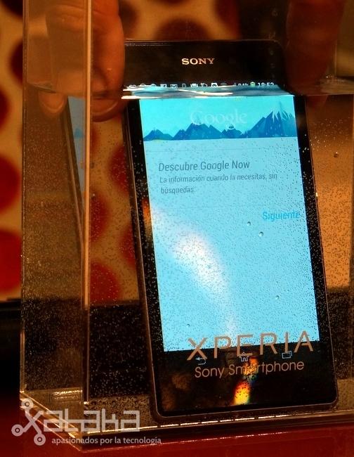 Sony Xperia Z1 a prueba