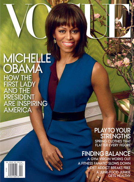 Michelle Obama Vogue Us April 2013 01