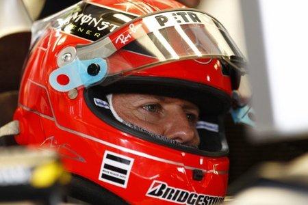 """Michael Schumacher respalda la """"orden de equipo"""" de Ferrari"""