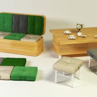 Sofá convertible, un ingenioso mueble multifuncional