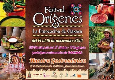 Festival Orígenes, la Etnococina de Oaxaca 2013