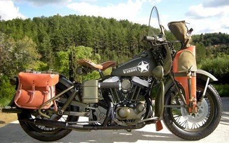 Milwaukee Belle, una Harley Davidson Sportster 883 vestida de WL