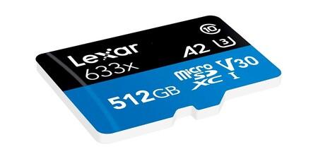 Tarjeta Lexar High Performance 512gb 633x Microsdxc Uhs I