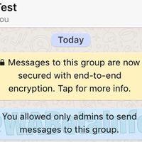 Grupos de WhatsApp de solo lectura: los administradores podrán restringir el envío de mensajes