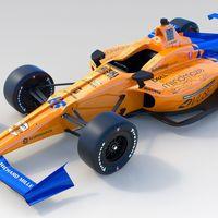 McLaren presenta el coche con el que Fernando Alonso tratará de ganar las 500 millas de Indianápolis