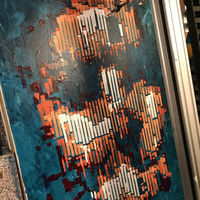 Esta obra de arte fue pintada por un robot y es la ganadora del concurso RobotArt 2018