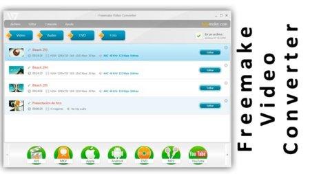 Freemake Video Converter una solución completa y sencilla de usar
