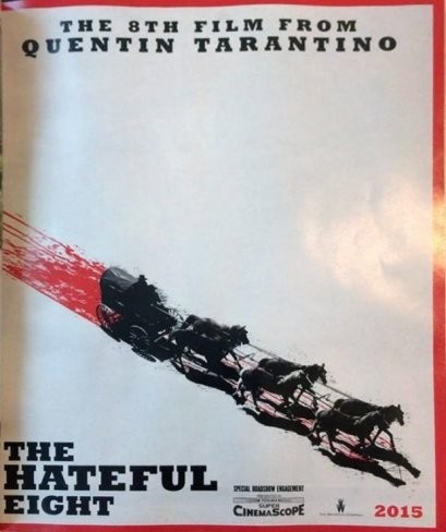 'The Hateful Eight', teaser poster de lo nuevo de Quentin Tarantino