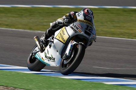 Post GP Portugal 2011: Thomas Luthi en lo alto de la tabla de tiempos no oficiales