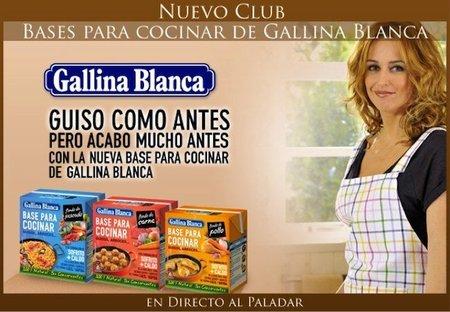 Bienvenidos al Club Base para Cocinar de Gallina Blanca en Directo al Paladar