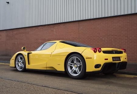 Yellow Ferrari Enzo For Sale London 2