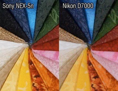 NEX-5n vs D7000