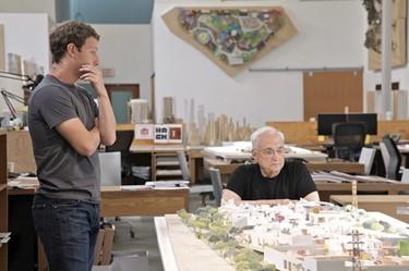 Frank Gehry diseñará la ampliación de las oficinas de Facebook