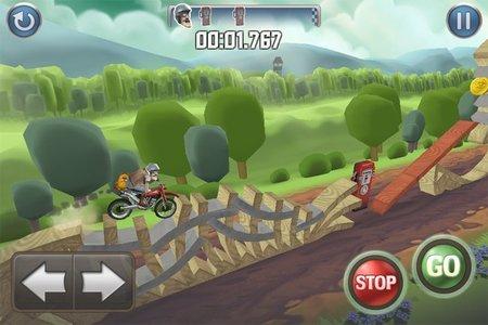 Bike Baron, lo más adictivo del momento para iOS