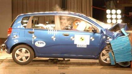 Chevrolet Kalos: otro resultado mediocre en Euroncap