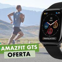 El Amazfit GTS vuelve a estar a precio mínimo en Amazon: si lo eliges en negro lo tienes por sólo 89,99 euros