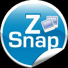 ZonaSnap, capturas de pantalla con BlackBerry