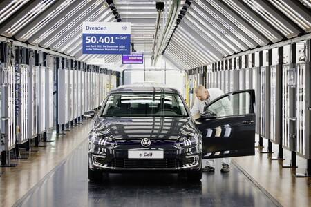 Volkswagen E Golf Fabrica