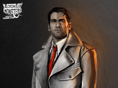 Blues and Bullets, lo nuevo de A Crowd of Monsters, llega a Steam Greenlight
