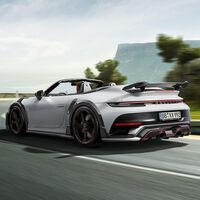 TechArt mete mano al Porsche 911 Turbo S Cabriolet y lo convierte en un descapotable aún más bruto de 800 CV
