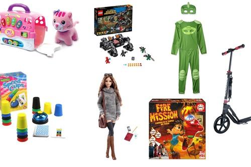 7 juguetes rebajados en Amazon a 20 días de nochebuena: Lego, Barbie, PJ Mask, Educa Borrás...