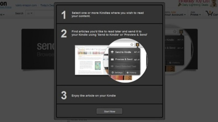 Send to Kindle llega a Firefox para enviar páginas web a nuestro dispositivo de Amazon
