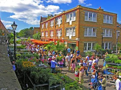 Diez mercados en Londres para visitar(I)