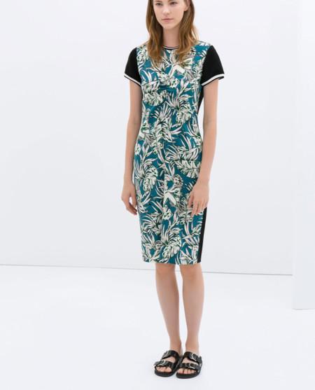 Zara tropical vestidos primavera 2014