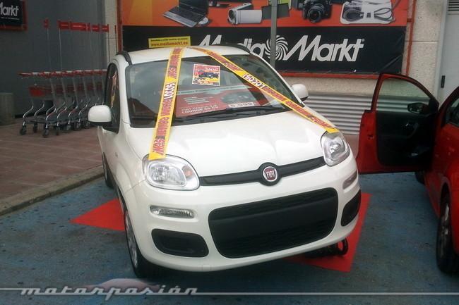 Fiat Panda y Media Markt