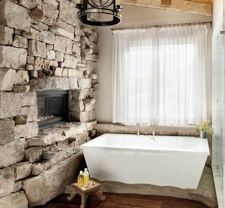 chimenea-baño