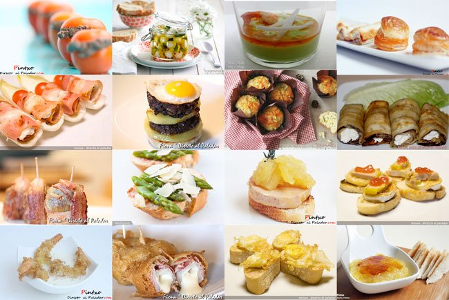 Recetas navide as aperitivos for Comidas para sorprender