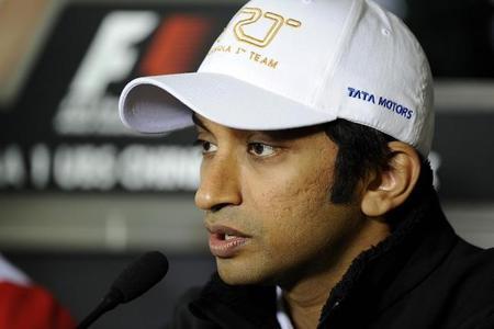 Narain Karthikeyan espera continuar en HRT en 2013
