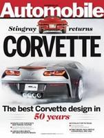 A Automobile se le ha escapado un día antes la portada con el Corvette C7