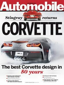 Portada Automobile Corvette C7