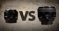 Comparativa práctica de los objetivos Canon 50mm f1.8 y Canon 50mm L f1.2