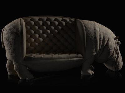 Colección The Animal Chairs: porque hay animales que no sirven como mascotas. ¿O sí?