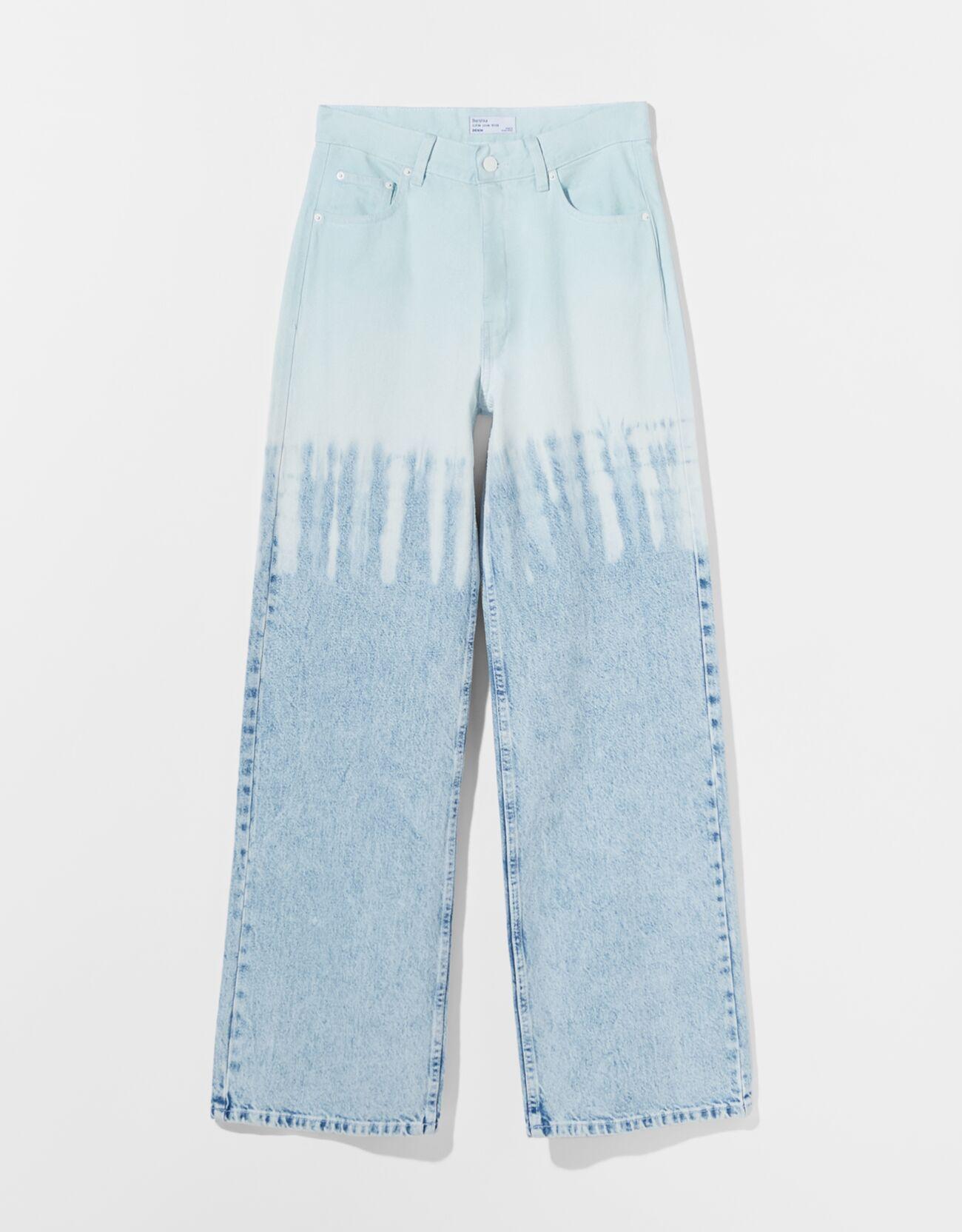 Jeans 90's efecto tie dye.