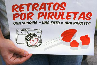 """Retratos por piruletas, ahora """"made in Spain"""""""