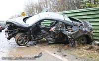 Accidente fatal con un Audi R8